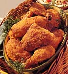 spicy oven-fried chicken picture
