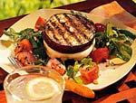 grilled eggplant and mozzarella sandwiches picture