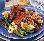 chicken marinated in garlic, chilies and citrus juices picture