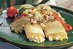 egg tacos with pumpkin-seed and tomato-habanero sauces picture