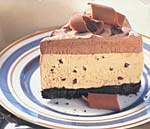 mocha ice cream cake picture