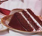 peppermint fudge cake picture