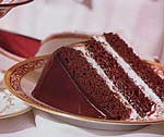 peppermint fudge cake picture