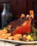 herbed rib roast picture