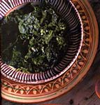 cavolo nero with cilantro picture