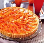blood orange tart with cardamom pastry cream picture