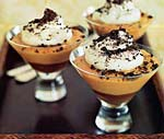 black-bottom caramel pudding picture
