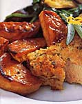 roasted sweet potatoes with honey glaze picture
