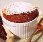 chocolate-amaretto souffles picture