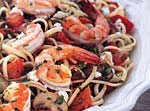 linguine with shrimp and plum tomatoes picture
