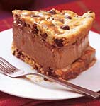 chocolate-chip ice-cream-sandwich cake with butterscotch sauce picture