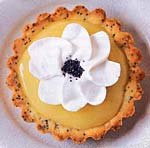 lemon and poppy seed tartlets picture