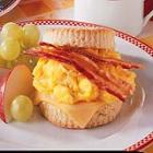 bacon 'n' egg biscuits picture