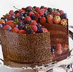 triple-chocolate celebration cake picture