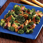 bacon broccoli & raisin salad picture