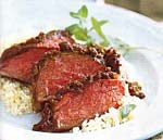 spice-rubbed butterflied leg of lamb picture