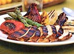 orange-molasses grilled chicken picture