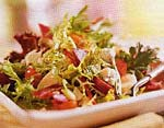 hearts of palm salad with beets and blue cheese picture
