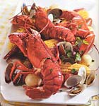 easy summer clambake picture