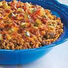 bacon cheeseburger rice picture