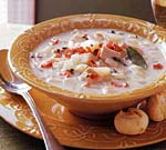 turkey sage chowder picture