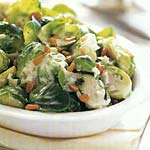 brussels sprouts with marjoram and pine nuts picture