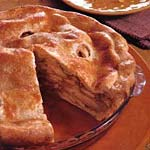 classic double-crust apple pie picture