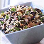 wild rice stuffing with wild mushrooms picture