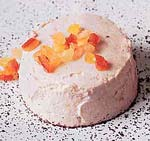 ricotta and candied fruit puddings picture