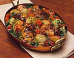 skillet chicken and vegetables picture