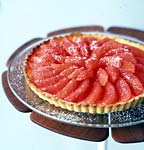 grapefruit tart picture