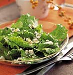 romaine salad with chives and blue cheese picture