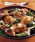 lemon chicken and artichokes with dill sauce picture