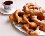 fried pastry rings picture