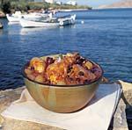 chicken, onion, and raisin stew picture