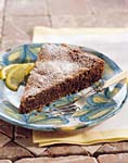 chocolate almond torte picture