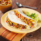 Baja Beef Soft Tacos with Lindsay® Olive-Chipotle Salsa picture