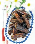 grilled spareribs with cherry cola glaze picture