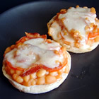 baked bean sandwiches picture