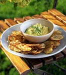 curried vegetable dip picture