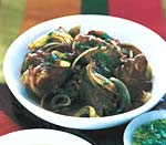 braised pork with mojo sauce picture