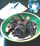 greek-style braised lamb shanks picture