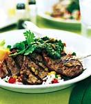 grilled pork tenderloin with pipian sauce picture