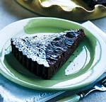 chocolate-cherry tart picture