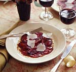 beet carpaccio picture
