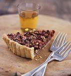 pecan cranberry tart picture