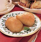 butterscotch baked pears picture