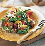 winter salad with sauteed bay scallops picture