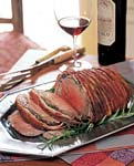 roasted beef tenderloin wrapped in bacon picture