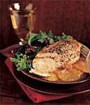 spiced chicken with oranges picture